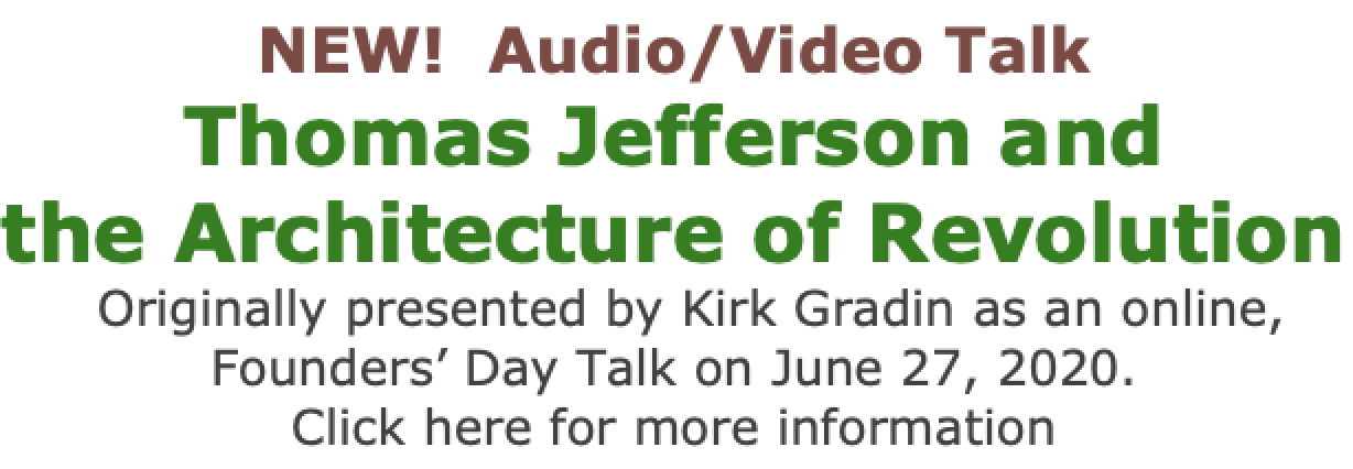 Thomas Jefferson and The Architecture of Revolution video