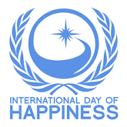 UN logo for International Day of Happiness